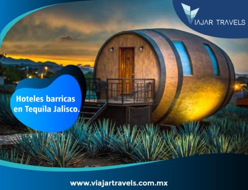 Hoteles barricas en Tequila Jalisco.